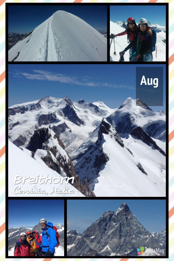 Breithorn Central y Occidental